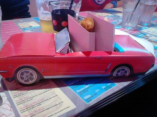 Cafe Racer Diner : menu enfant