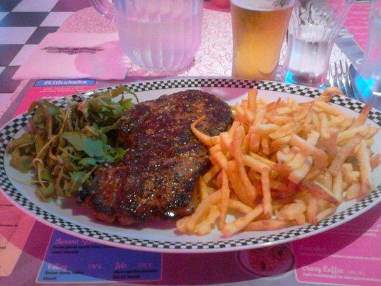 Cafe Racer Diner : entrecote frittes