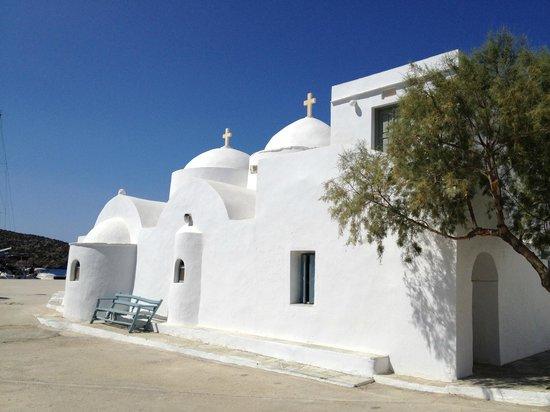Vathi Beach: La chiesa