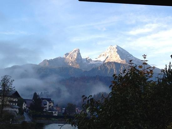 Hotel Bavaria: My room's Balcony view
