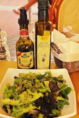 The Salty Dog Cafe: Der Salat