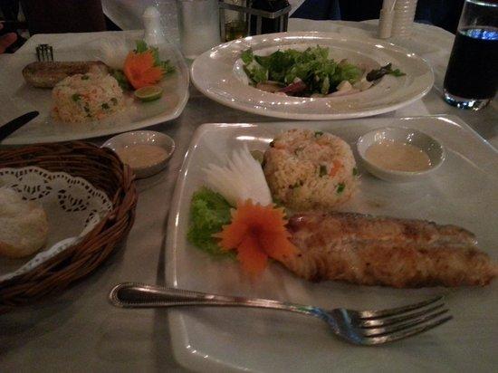 Sala Thai Restaurant: shark fileto
