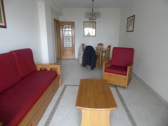 Cerro Mar Atlantico Touristic Apartments : Living area