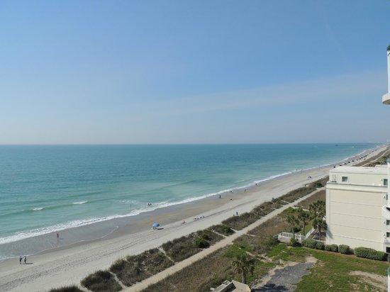 Hampton Inn & Suites Myrtle Beach/Oceanfront: Zimmeraussicht