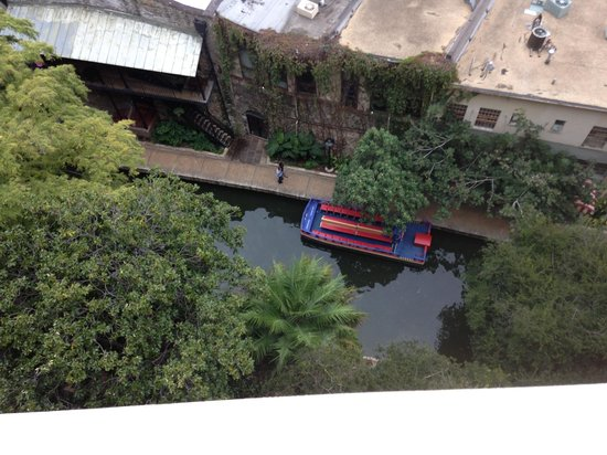 Drury Inn & Suites Riverwalk: View from our balcony.