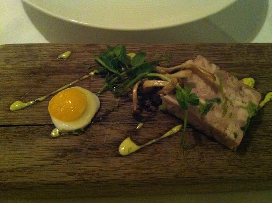 The Eastbury Hotel : First course!