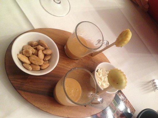 Rottele's Restaurant & Residenz: Petit Four Pre Lunch