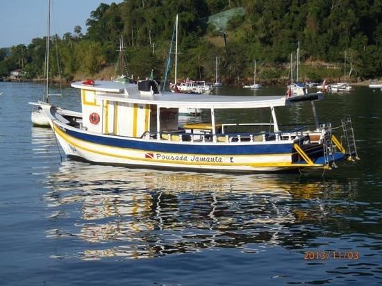 Pousada Jamanta: Barco da Pousada