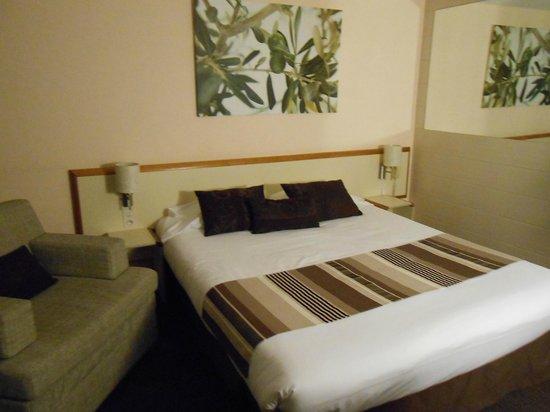 Hotel Restaurant de l'Ocean : Vue de la cxhambre