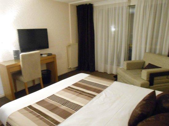 Hotel Restaurant de l'Ocean : Vue de la chambre