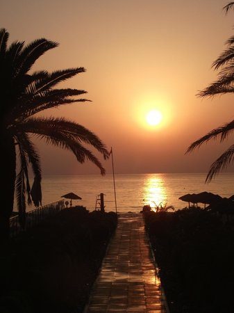 SENSIMAR Scheherazade : Sun rise on our last day