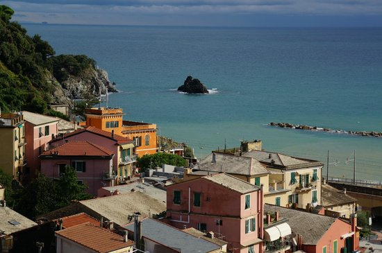 Hotel Villa Steno : A view from the rooftop terrace