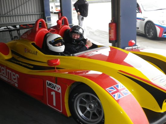 PalmerSport: Hot Lap... and it was!