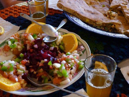 Auberge Hotel Porte De Sahara Ouzina : Repas savoureux...