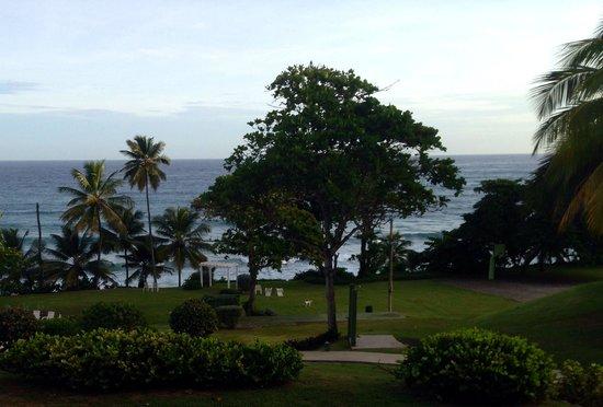 Hotel El Guajataca: Vista desde el balcón