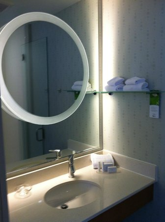 SpringHill Suites Ashburn Dulles North : Great Bathroom Mirror