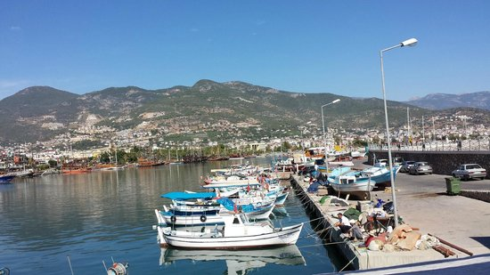 Merlot Food & Drink : Vue sur le port d'Alanya