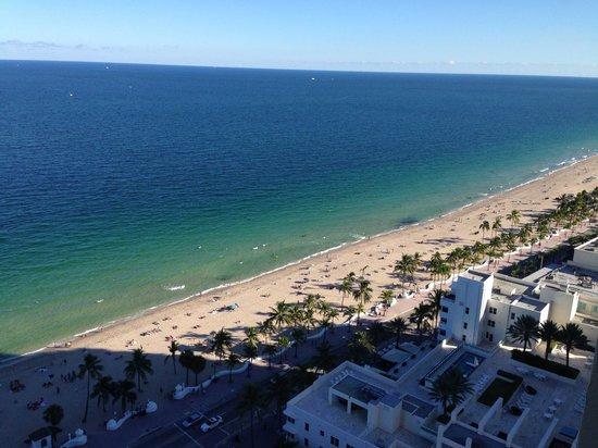 Marriott's BeachPlace Towers: Ocean view