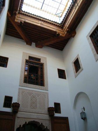 Riad Rocco: Inner courtyard