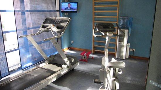 Novotel Suites Nancy Centre Hotel: Salle de fitness