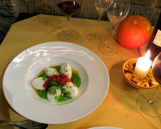 Ristorante Ambrosia: Gnudi - delicious!
