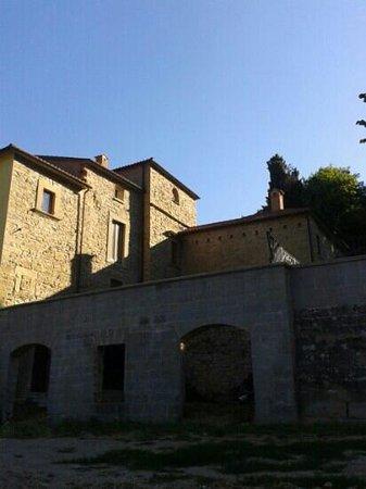 Villa di Gruffieto: Villa lato sud
