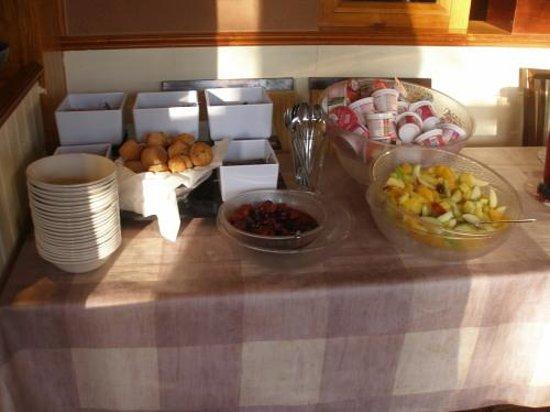 Premier Inn Bangor Hotel: Frühstück