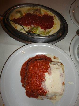 La Marchigiana : Pasticciata al gratin und Lasagne