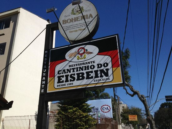CANTINHO DO EISBEIN