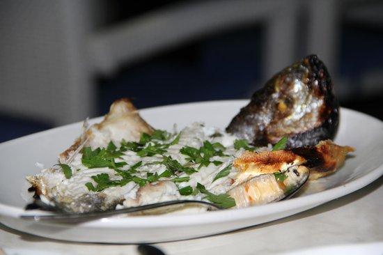 Dionyssos Fish Tavern: Fish meze (дорадо на гриле)