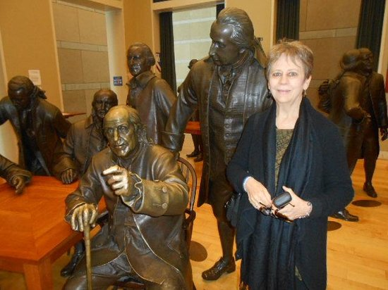 National Constitution Center: MaryAnn and Ben Franklin