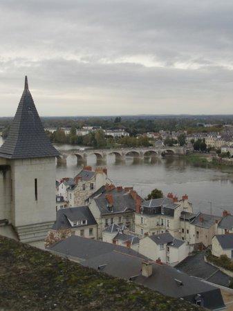 Belambra Clubs - Le Domaine du Golf : Vue des remparts du château de Saumur