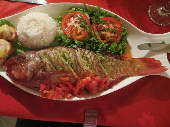 Etoile Labrine: Succulent repas du soir