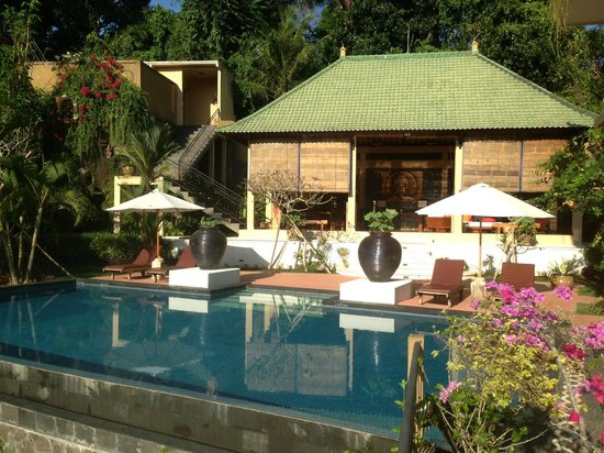 Villa Selat: The pool view