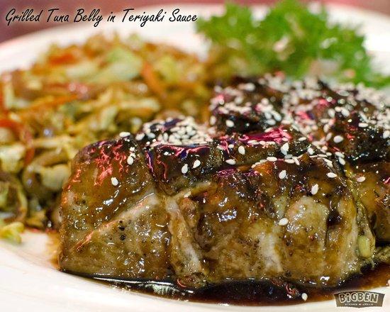 BIGBEN Steaks & Grills: Grilled Tuna Belly