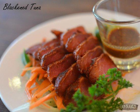 BIGBEN Steaks & Grills: Blackened Tuna