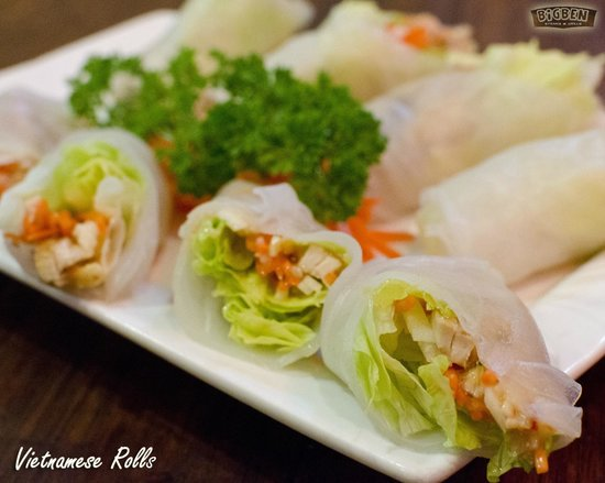 BIGBEN Steaks & Grills: Vietnamese Rolls