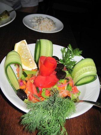 The Olive Garden: Fresh salad