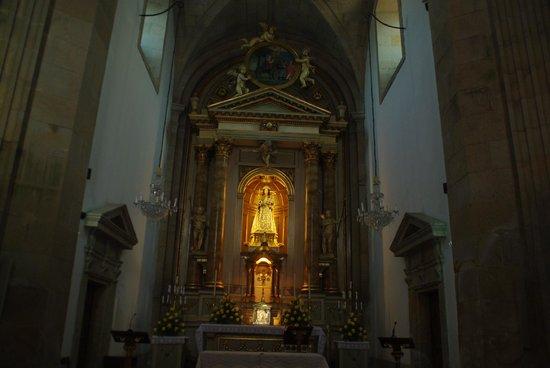 Iglesia de la Virgen Peregrina : Interior de la Capilla