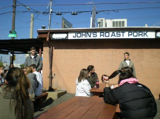 John's Roast Pork: John's