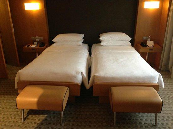 Grand Hyatt Singapore: Twin beds