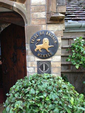 Abbots Cellar Restaurant at Priory Hotel: Entrance