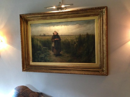 Abbots Cellar Restaurant at Priory Hotel: Painting