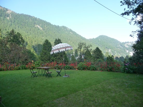 Abbotsford Nainital: View from the garden