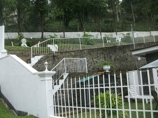 Anna Shanthi Villa: garden