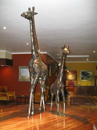 Hotel Numbi & Garden Suites: Lobby