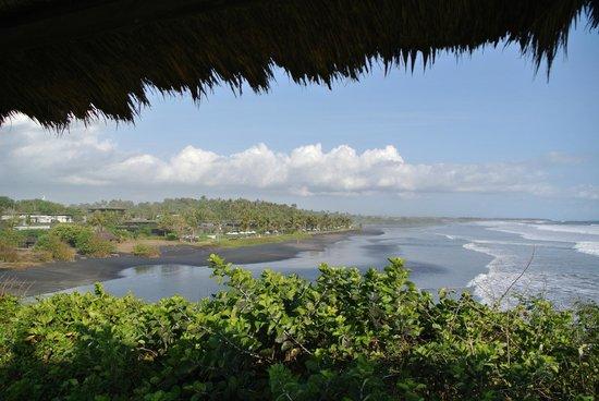 Soori Bali: The resort and the black sand beach