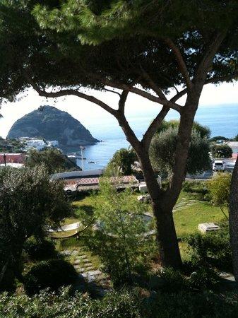 Park Hotel & Terme Romantica: S.Angelo dalla terrazza della camera