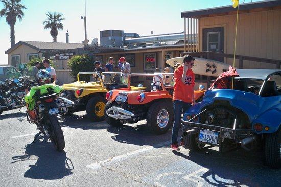 Jalama Beach Grill: Fun Bugs ride to Jalama Beach