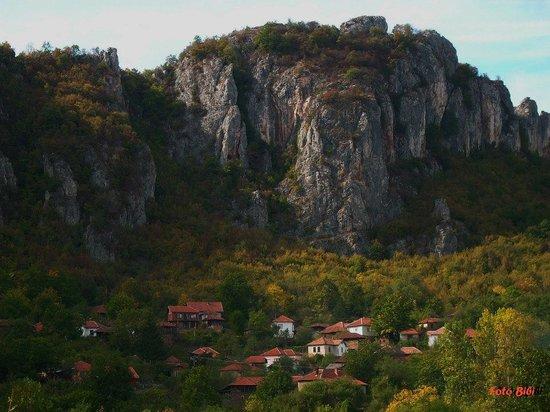 Jerma Canyon: Picture by Biserka Kos - the village Vlasin